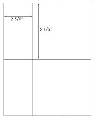 2 5/6 x 5 1/2 Rectangle<BR>Khaki Tan Label Sheet<BR>Wholesale Pkg. 250 sheets<BR><B>USUALLY SHIPS WITHIN 24 HRS</B>
