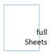 White Opaque BLOCKOUT Full Sheet Labels