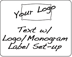Design Services - Text & Logo Label Set-up