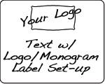 Design Services - Text & Logo Label Set-up